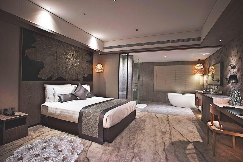 Artree Taiwan hotel room