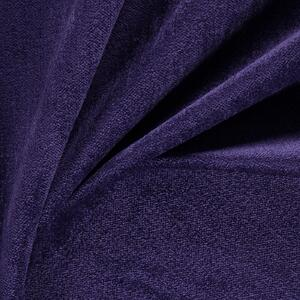 FR fabric ludo collection in plum closeup
