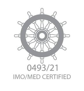 IMO wheel mark logo