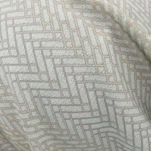 Lazarus Laneway FR fabric in Aqua with herringbone pattern