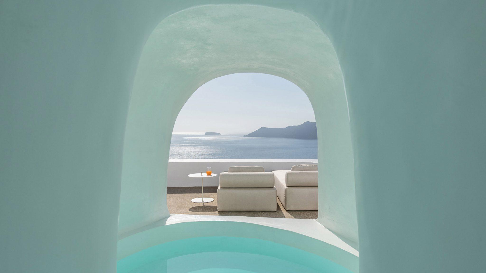Seven Santorini island retreats by Kapsimalis Architects