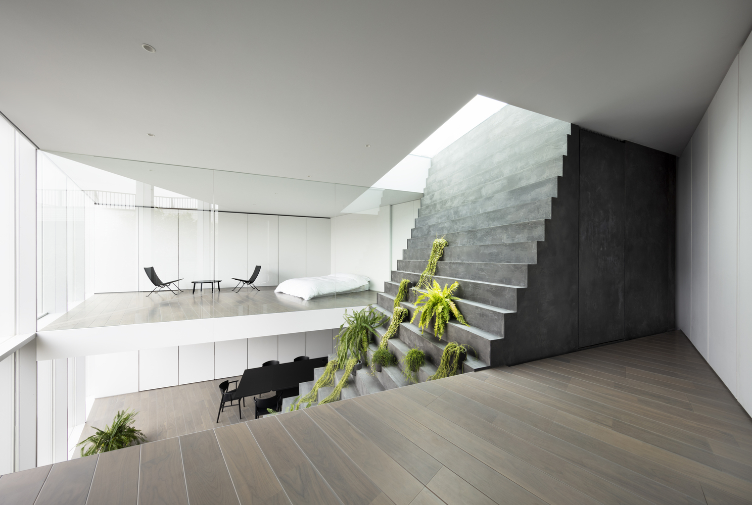 biophilic design_stairway house_nendo