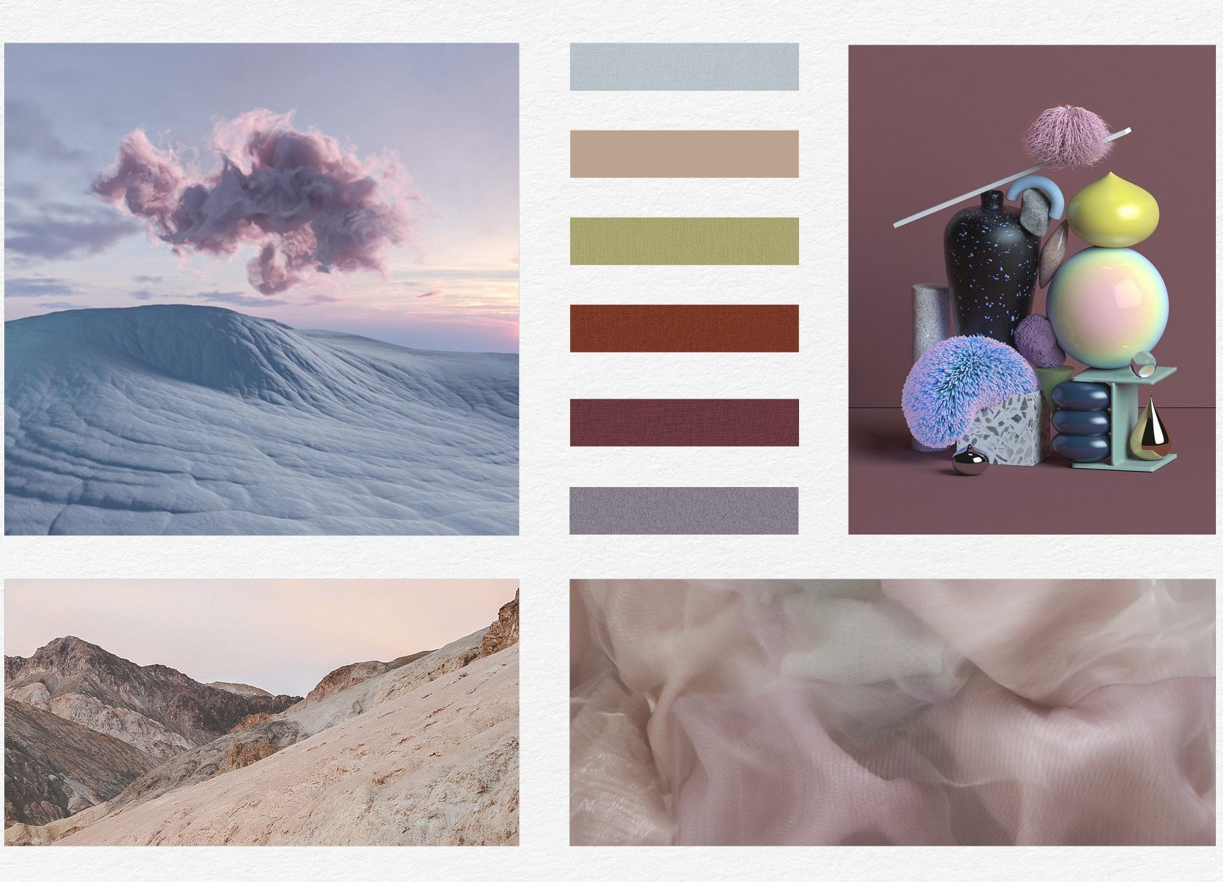 digitally authentic moodboard 2021 2022 trends