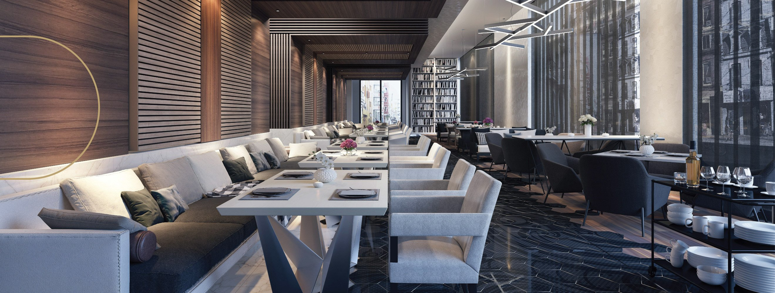 Authentic bar and restaurant interior design_banner