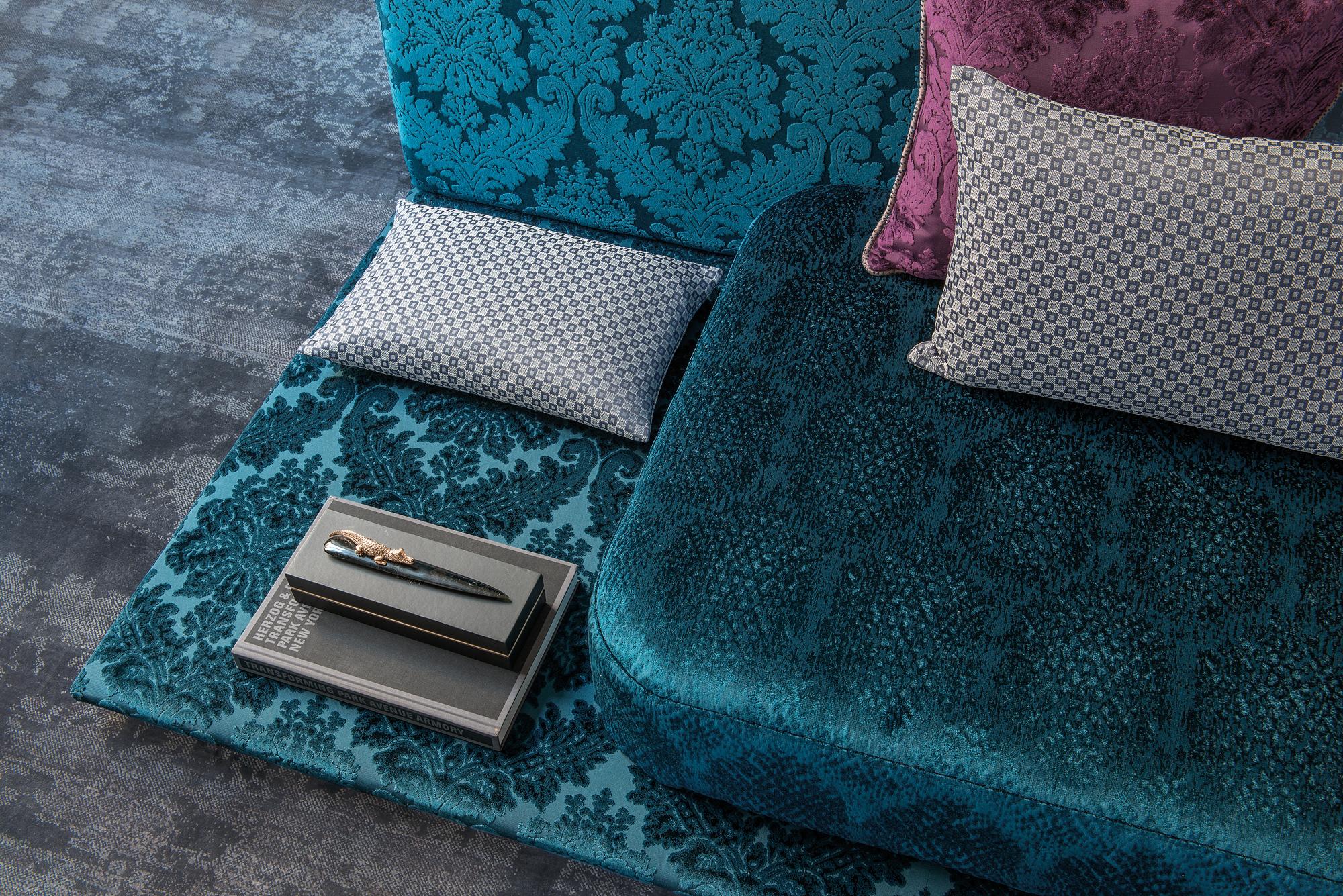 Luxurious vibrant textures