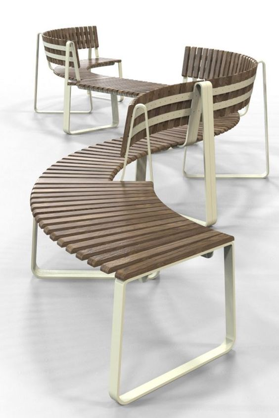 Super sustainable seating for public interiors. Check out Archiproducts for more.