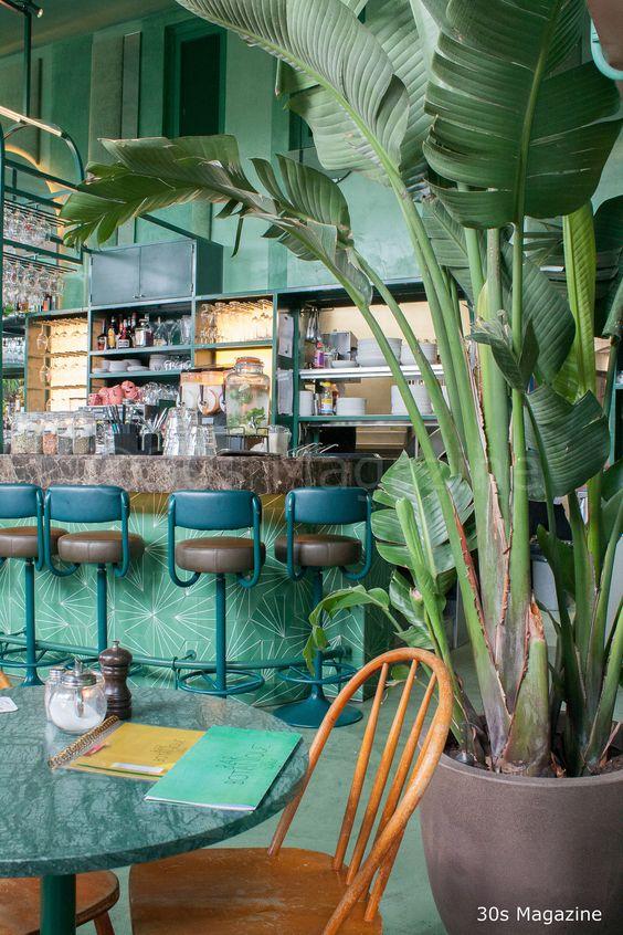 Bar Botanique, in Amsterdam.